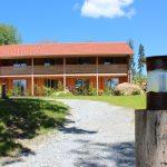 Hotel Gutsalm Harlachberg Pole Camp Bayern fern